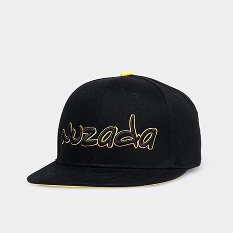 XiaoHeJD Nueva Letra Logo Hip Hop Cap para Hombres, Mujeres ...