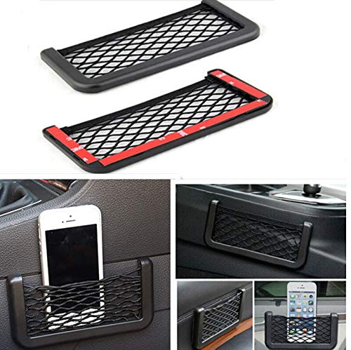 031//1 Ferocity Universal Storage Net 2 PIECES Organizers for Car Truck Trunk With Self Adhesive Tape 30 x 20 cm SET