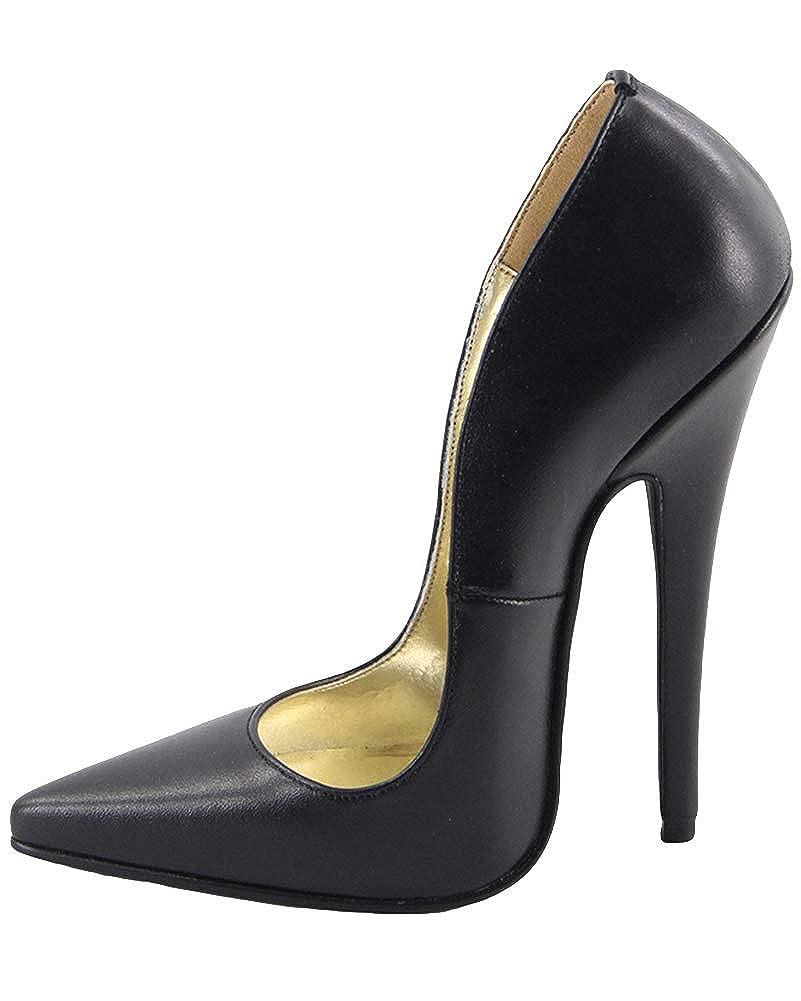 WONDERHEEL Damen Fetisch Pointed Toe Pumps  | Bestellung willkommen  | Zarte