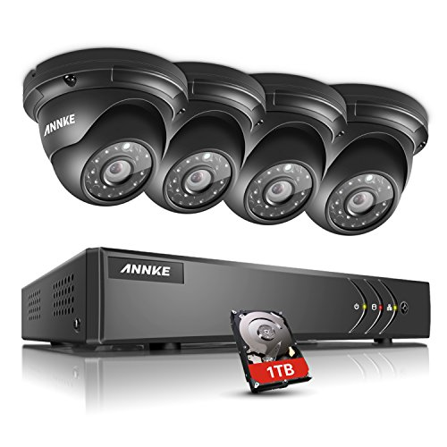 ANNKE 8CH Surveillance System 1080N 5-in-1 DVR Recorder with