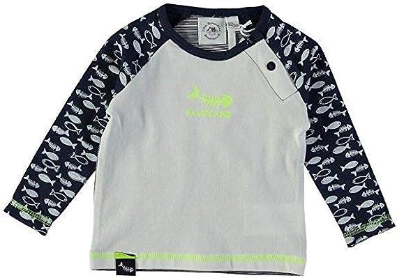 Little Bampidano Bebé Niño Camisa Manga Larga Azul Prematuro Gr.50-80: Amazon.es: Ropa y accesorios