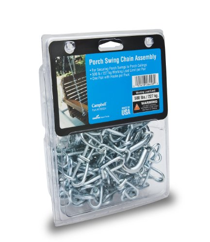 Campbell 0702024 Porch Swing Chain Assembly with