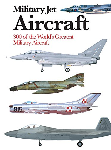 Military Jet Aircraft: 300 of the World's Greatest Military Aircraft (Mini Encyclopedia)