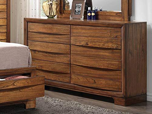 Sunset Trading SS-BJ600-DR Sonona Storage Bedroom Dresser, Warm Chestnut ()