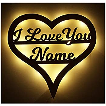 SHANE Personalised LED Name In Lights Any name available Your Name in Lights