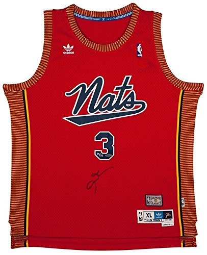 detailed look 75416 55bf9 Amazon.com: ALLEN IVERSON Autographed Syracuse Nationals ...