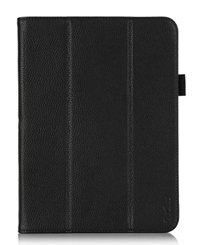 ProCase Galaxy Note 10.1 Protective Case - Tri-Fold Folio Cover for Galaxy Note 10.1 Inch N8000 N8010 N8013 Tablet (Black)