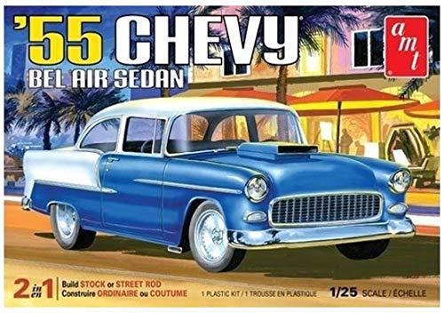 AMT 1955 Chevrolet Belair Sedan Model Car Kit ()