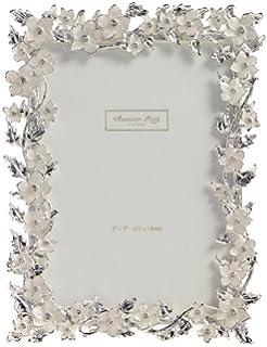 MASCAGNI - Portafoto argento glitter 10x15, metallo: Amazon ...