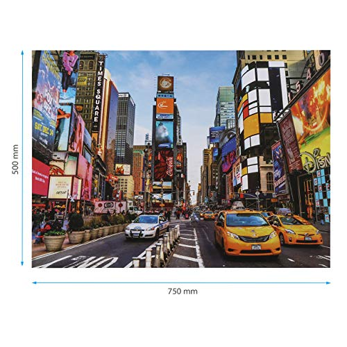 Housmile Puzzles for Adults 1000 Piece Time Square Jigsaw Puzzles Adult Puzzles Jigsaw Puzzles 1000 Pieces for Adults