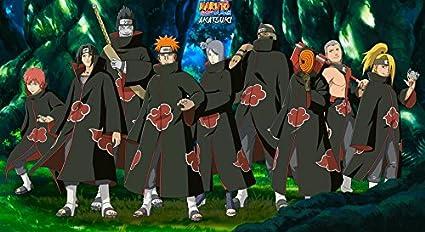 Amazon Com Xxw Artwork Naruto Akatsuki Poster Uzumaki
