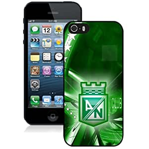 Unique DIY Designed Case For iPhone 5S With Soccer Club Atletico Nacional Football Logo Cell Phone Case
