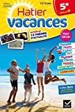 img - for Cahiers De Vacances Hatier: 5e (Vers LA 4e) 12/13 Ans (French Edition) book / textbook / text book