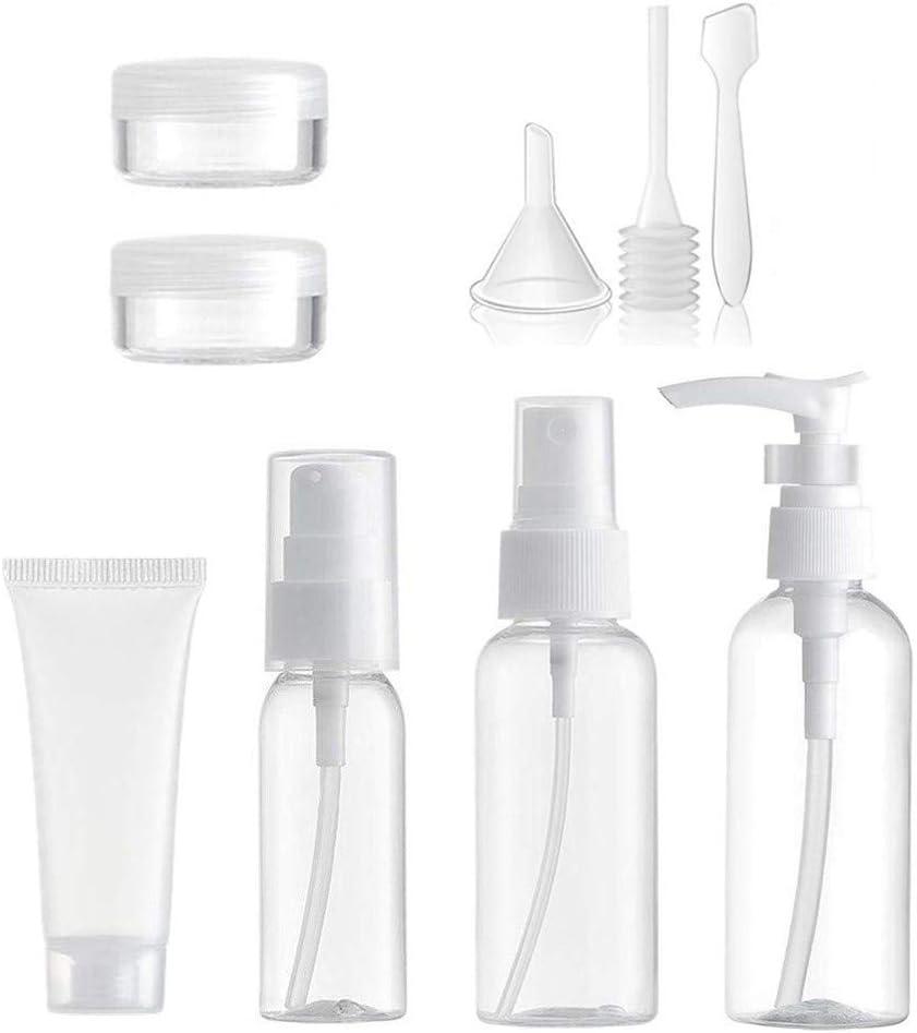HEELPPO Botes Pequeños De Plastico Botes Plastico Dosificador Botellas Plastico Transparente Dispensador De Botella De Bomba Botellas Dispensadoras De Bomba