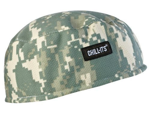 Ergodyne Chill-Its 6630 Absorptive Moisture-Wicking Skull Cap, Camo ()