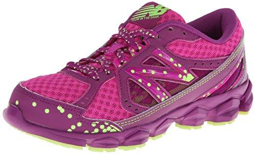 New Balance KJ750 Lace-Up Running Shoe (Little Kid/Big Kid),Purple,13.5 M US Little Kid