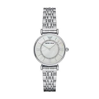 789e7596fc Emporio Armani Gianni T-bar Analog White Dial Women's Watch - AR1908