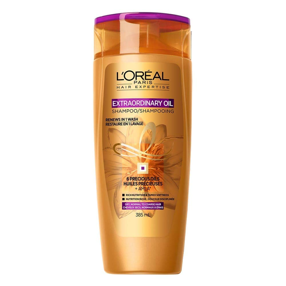 L'Oreal Paris Hair Expertise Extraordinary Oil Conditioner For Dry, Normal to Coarse Hair, 385 mL L'Oreal Paris K1998100