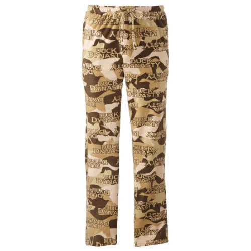 Duck Dynasty Men's Just Ducks Camo Microfleece Lounge Pants (Large)