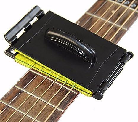 Doble cuerda de guitarra y diapasón limpiador cuidado de ...