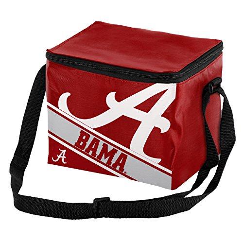 - Alabama Big Logo Stripe 6 Pack Cooler
