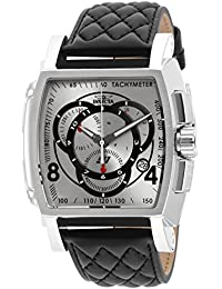 Men's 15789 S1 Rally Analog Display Swiss Quartz Black Watch