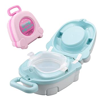 Amazon.com   Kids Travel Potty Emergency Toilet for Outdoor Camping Car  Travel Potty Training   Baby 9cab1f0c2