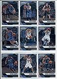 2016-17 Panini Prizm Veteran Oklahoma City Thunder Team Set of 9 Cards: Russell Westbrook(#251), Steven Adams(#252), Victor Oladipo(#253), Enes Kanter(#254), Andre Roberson(#256), Cameron Payne(#257), Ersan Ilyasova(#258), Mitch McGary(#259), Anthony Morrow(#260)