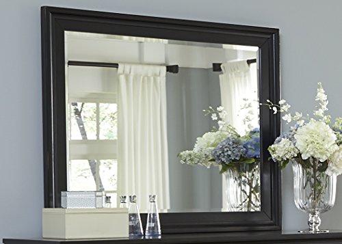 Liberty Furniture Hamilton III Bedroom Landscape Mirror, Black Finish