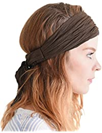 Womens Headband Boho Headwrap - Turban Head Wrap Festival Retro Hair  Accessory Pirate Hairband 4ac5af599baa