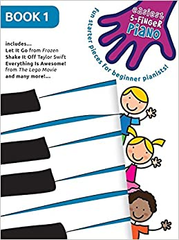 Book Easiest 5-Finger Piano - Book 1