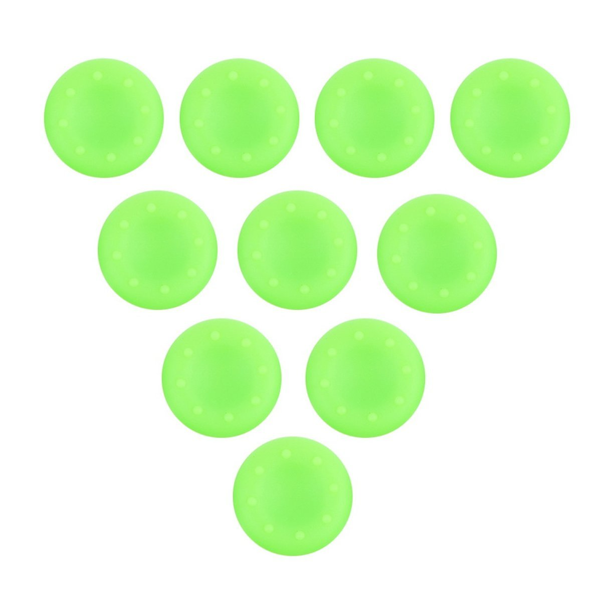 10 Pz Silicone antipolvere Dirt-proof Controller Analog Thumb Stick Grip Thumbstick Thumbstick GripsCap Cover Per PS4 XBOX ONE Detectoy
