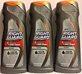 Right Guard Hair & Body Wash - Xtreme Odor Combat - Surge - Net Wt. 16 FL OZ (473 mL) Per Bottle - Pack of 3
