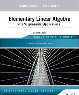 Elementary Linear Algebra By Howard Anton 9th Edition Pdf