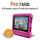 "Fire 7 Kids Tablet, 7"" Display, 16 GB, Pink"