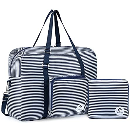 For Airlines Foldable Travel Duffel Bag Tote Carry...