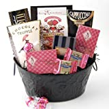 Sassy and Sophisticated Gourmet Gift Basket for Women - Great Gift Idea for Her