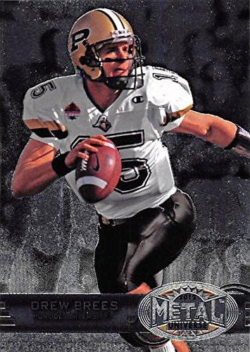(Drew Brees football card (Purdue Boilermakers) 2012 Skybox Metal Universe #M-40)