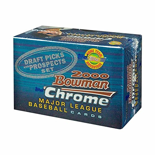 - 2000 Bowman Chrome Draft Picks & Prospects Baseball HTA Factory Set