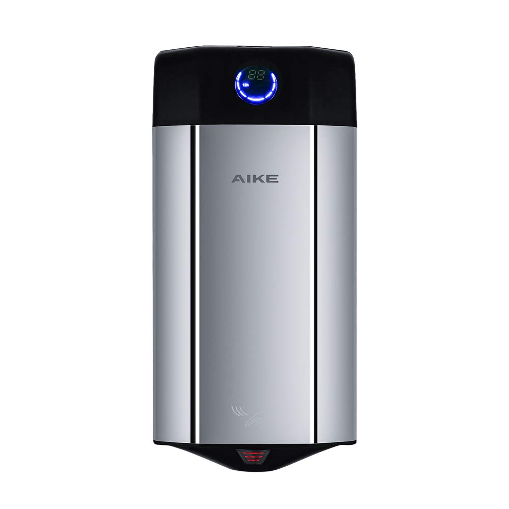AIKE AK2807-6 Commercial Perfumed Hand Dryer Colorful Stainless Steel High Speed (Polished). by AIKE
