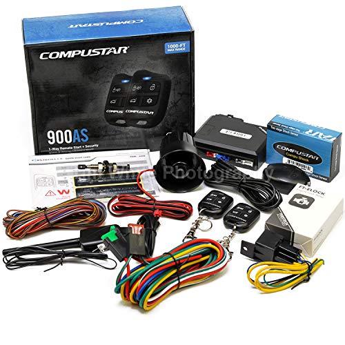 Compustar CS900-AS Remote Auto Car Start Starter & Alarm System & Keyless Entry