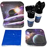 Blue Orchards Space Party Supplies Packs