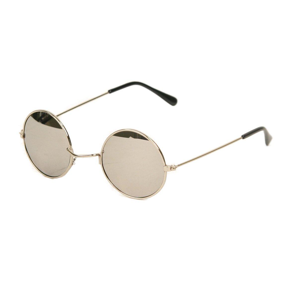 Amazon.com: UB estilo espejo lente anteojos de sol de John ...
