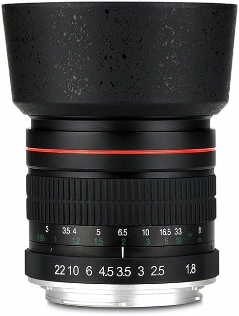 lightdow 85 mm f/1,8 teleobjetivo Mediano Retrato Prime Lente de ...