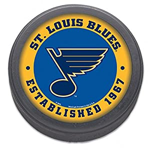 St Louis BLUES NHL Est 1967 HOCKEY PUCK