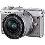 Canon EOS M100 Gris + EF-M 15-45mm Limited Edition Kit de Boîtier d'Appareil photo numérique 24,2 Mpix Zoom optique 10x Bluetooth Gris