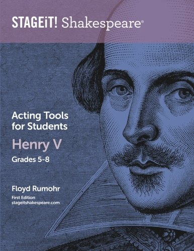 Amazon.com: STAGEiT! Shakespeare Acting Tools for Students - Henry ...