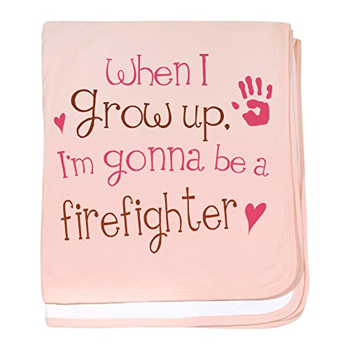 CafePress Firefighter blanket Blanket Newborn