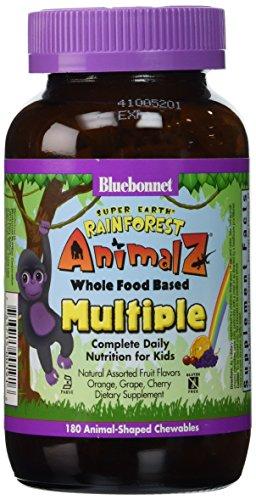 Super Earth Rainforest Animalz Whole Food Based Multiple - Orange,