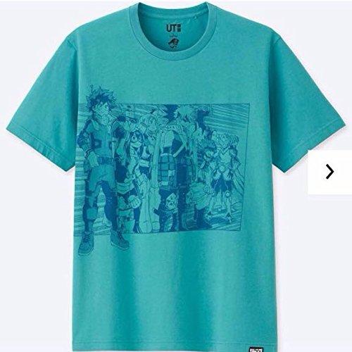 僕のヒーローアカデミア UTコラボ サイズXL Tシャツ ジャンプ50周年 ユニクロの商品画像